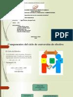 COMPONENTES DE CICLO DE CONVERSION DE EFECTIVO