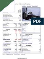 14138 Pinewood - Performance Report