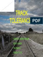 Track Tolerances