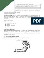 TALLER CUARTO PERIODO PRIMERO LENGUAJE MATEMATICA Y ARTISTICA