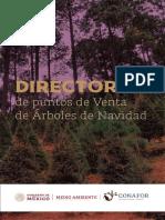 Directorio de lugares que venden árboles navideños 2020