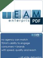 TEAM 2010 Capabilites MDC Partners & Case Studies 05-12-10