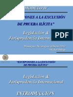 4.- MODULO IV. Excepciones a la exclusión de prueba ilícita. (1)
