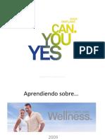 Aprendiendo sobre Wellness by Oriflame 2009