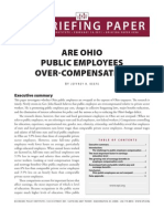 Are Ohio Public Employees Over-Compensated?