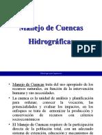 16 MANEJO DE CUENCAS