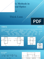Thick Lens