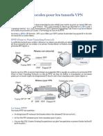 Les Protocoles de Sécurités - Les Protocoles Pour Les Tunnels VPN