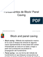 Clase 19-20 Principios de Block Panel Caving