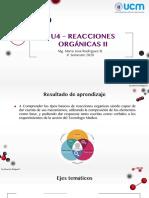 TME 123 - Reacciones químicas orgánicas II