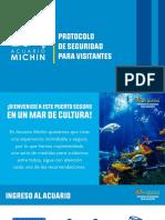 Protocolo de Seguridad Para Visitantes Acuario Michin