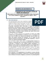 TDR RRSS CHALCOS