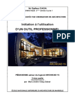 Cours Archicad creation objet