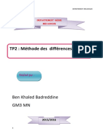 matlab-tp2-1difference finies