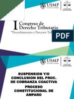 DEMANDA DE AMPARO Y SUSPENSION DE LA COBRANZA USMP