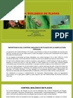 CLASES CONTROL BIOLOGICO DE PLAGAS