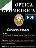 OPTICA GEOMETRICA 2017