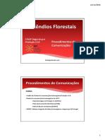 6-Procedimentos de Comunicações