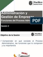 Administracin y Gestin de Empresas Sesion 2