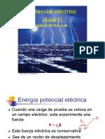 Aula 1- Potencial eléctrico