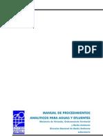 Manual de procedimientos para análisis de aguas y efluentes industriales