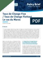 Taux de change fixe/Taux de change flottant