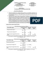 Parcial 2 - Sintonización PID