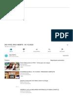 [AO VIVO] JOGO ABERTO - 01_12_2020 - YouTube