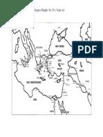1.1 Grécia - Mapa da Grecia antiga