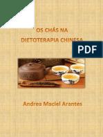 Os Chás na Dietoterapia Chinesa