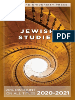 Stanford University Press | Jewish Studies 2020-2021