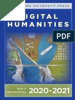 Stanford University Press   Digital Humanities 2020-2021