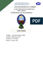 ANALISIS DEL CASO DE LA EMPRESA DE HELADOS PANDA