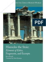 Ilaria Ramelli - Hierocles the Stoic_ Elements of Ethics, Fragments, and Excerpts (Writings from the Greco-Roman World) (2009)