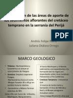 Areas de aporte Serrania Perija