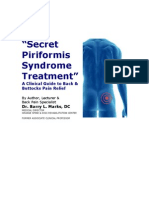 Secret Piriformis Syndrome Treatment