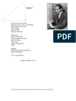Langston Hughes Lesson Materials