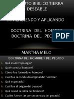 PRESENTACION DOCTRINA HOMBRE Y PECADO