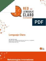 Panel Seminario Lenguaje Claro
