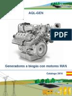 Generadores MAN a Biogas