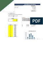 Binomial y Poisson en EXCEL