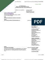 NEW CINGULAR WIRELESS HEADQUARTERS, LLC v. ACE AMERICAN INSURANCE CO. et al Docket