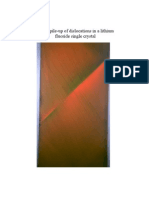 Influence of Colour Centres on the Plastic Deformation of Halide Crystals