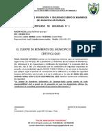 DEPARTAMENTO  DE  PREVENCIÓN  Y  SEGURIDAD CUERPO DE BOMBEROS DEL MUNICIPIO DE OPORAPA.docx