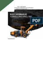 Jumbo de perforación subterránea de la perforadora hidráulica del bajo precio