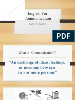 KV English For Communication Chapter 1