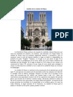 Análisis de la catedral de Reims