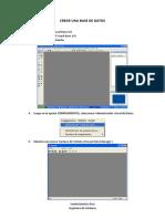 Crear una Base de Datos Access Visual Basic
