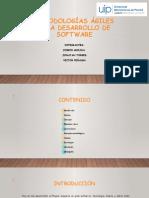 METODOLOGÍAS ÁGILES PARA DESARROLLO DE SOFTWARE