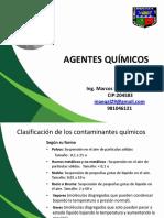 Clase 2 Agentes Químicos